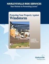 Protecting your Property against Windstorm - Harleysville Insurance