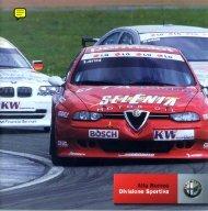 Alfa Romeo, Divisione Sportiva, 2003 - GTV6 et 156 GTA