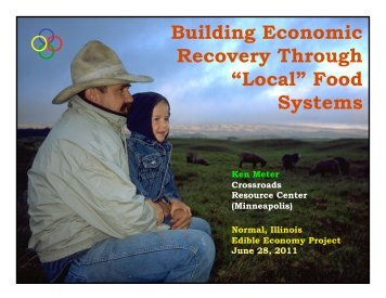 """Local"" Food Systems - Crossroads Resource Center"