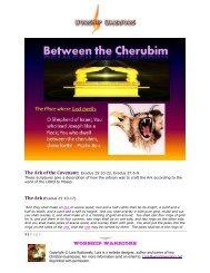 Between The Cherubim - Worshipwarriors.net