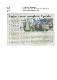 Preview - Port Klang