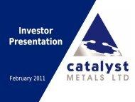 0.93 Mb - Catalyst Metals