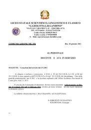 liceo statale scientifico, linguistico e classico - Licei di Bra