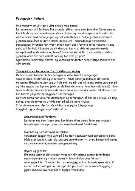 Les mer om vårt pedagogiske innhold.pdf - Ringsaker kommune