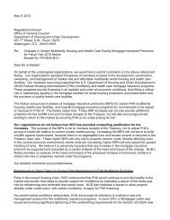 Letter - National Multi Housing Council