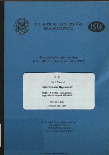 Venedig - Technische Universität Braunschweig