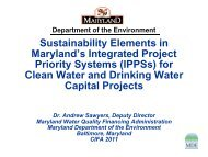 Sustainability Elements in MD Integrated Project Priority Systems