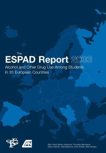 The ESPAD report 2003