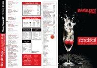 view cocktail menu - Ribby Hall Village