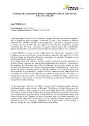 ETUDE DES FACTEURS DE RISQUES CAMPYLOBACTER EN ...