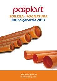 EDILIZIA - FOGNATURA - Poliplast