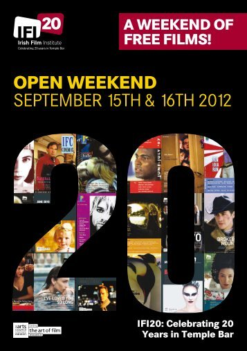 Download the IFI20 Open Weekend flyer - Irish Film Institute
