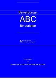 Bewerbungs ABC für Juristen - Jura-lotse.de