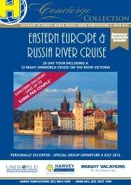 EASTERN EUROPE & RUSSIA RIVER CRUISE