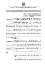 Instrução da Presidência do Crea-RS nº 135/2011