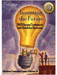 Inventing the Future - Iowa Association of Homes & Services for the ...