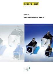 Katalog Schrittmotoren VRDM, ExRDM
