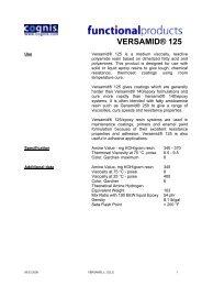 VERSAMID® 125 - ChemCenters