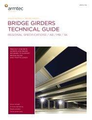Bridge Girders Regional Specs AB/MB/SK - Armtec