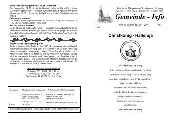 301 - kath. Pfarrgemeinde St. Johannes