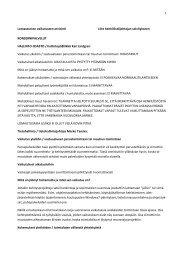 Lomautusten vaikutusten arviointi Liite 4.pdf - Salon kaupunki