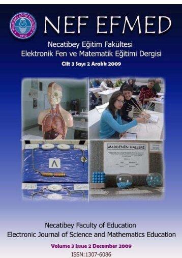 nef-efmed - Necatibey Eğitim Fakültesi - Balıkesir Üniversitesi