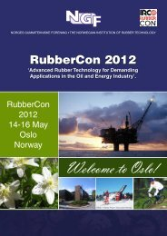 RubberCon 2012 - International Rubber Conference Organisation