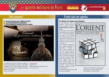 Gazette Militaire de Paris - Anciens du RICM
