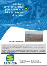 Indicateurs environnementaux pour le suivi de la DTA de l'estuaire ...