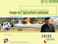 Image de l'agriculture wallonne - Crioc