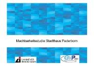 Machbarkeitsstudie Stadthaus Paderborn Neubau ... - Paderborn.de