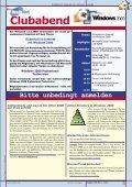 EINLADUNG ZUM CLUBABEND - PCNews - Seite 3
