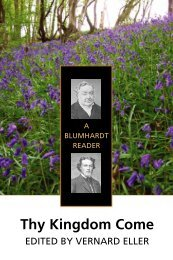 Thy Kingdom Come: A Blumhardt Reader - Plough