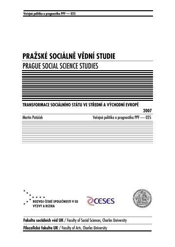 310 kB - publikace FSV UK