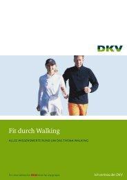 Fit durch Walking - Laufen Sie schon