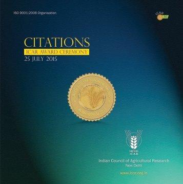 ICAR-Citations-2014