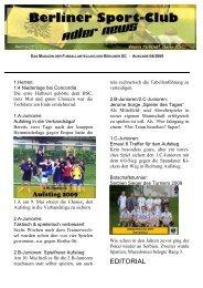 Newsletter 04-1-Mai-2009 - Berliner SC