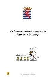 camps de jeunes à Durbuy j 2012 - PSSP - Marche-en-Famenne