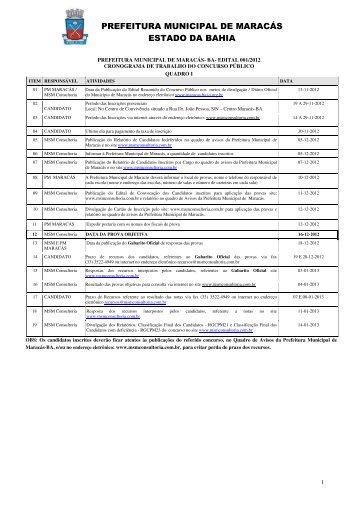 Edital completo - MSM Consultoria