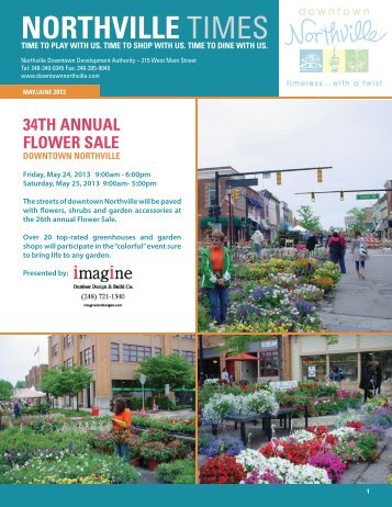 May/June - Downtown Northville!