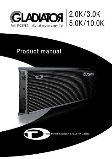 ROADSTAR ESBOÇO DO MANUAL RS-1400N & 1800N - Eb Acoustic