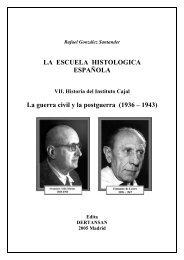 Escuela Histológica Española - Tomo VII