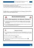 Sicherheitshinweise - United Spare Parts - Seite 2