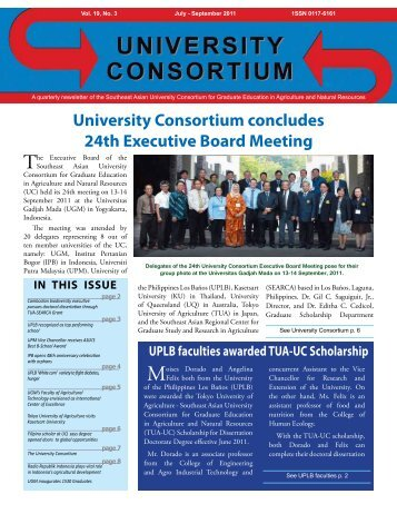 Jul-Sep 2011 issue - UC - searca