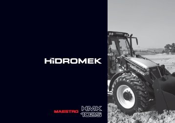 102 S Maestro Series - English Catalog - Hidromek