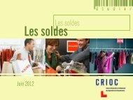 29-06-2012 : Les soldes - Crioc