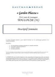 « Garden Plazza » TOULOUSE (31) - Audit et Solutions