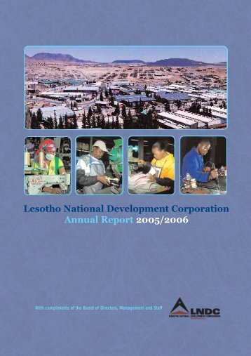 Lesotho National Development Corporation Annual Report 2005/2006