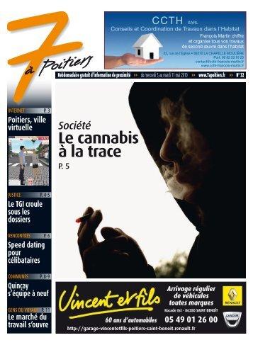 n° 32 voir ce numéro - 7 à Poitiers