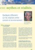 Cancers et environnement: mythes et réalités - Institut Jules Bordet ... - Page 7